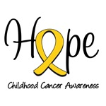 Childhood Cancer Hope T-Shirts & Gifts