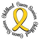 Childhood Cancer Awareness Survivor Ribbon