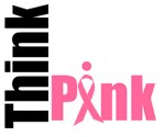 Think Pink Breast Cancer Awareness T-Shirts