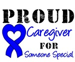 Proud Caregiver Colon Cancer T-Shirts & Gifts