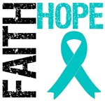 Faith Hope PCOS Awareness T-Shirts & Gifts
