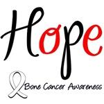 HOPE Bone Cancer T-Shirts & Gifts