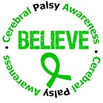 Cerebral Palsy Believe Shirts & Gifts
