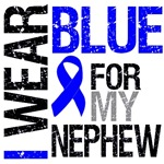 I Wear Blue Colon Cancer (Nephew) Shirts & Gifts
