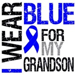 I Wear Blue Colon Cancer (Grandson) Shirts & Gifts