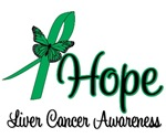 Liver Cancer Hope Awareness Shirts & Gifts