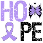 General Cancer Hope Butterfly Shirts & Gifts