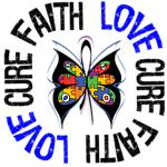 Autism Faith Love Cure Shirts & Gifts
