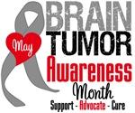 Brain Tumor Awareness Month Tees & Shirts