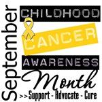Childhood Cancer Month September Shirts