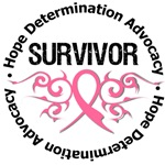 Breast Cancer Survival Tribal Shirts & Gifts
