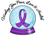 Christmas Snowglobe Pancreatic Cancer Gifts