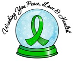 Christmas Snowglobe Kidney Cancer Gifts
