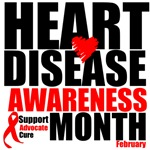 Heart Disease Awareness Month T-Shirts and Gifts