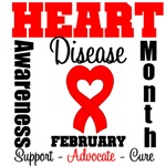 Heart Disease Awareness Month is February
