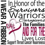 Throat Cancer I Wear Tribute