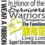 Sarcoma Tribute Ribbon