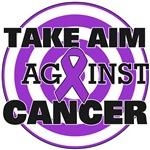 Take Aim Against Pancreatic Cancer Shirts & Gifts