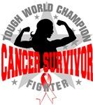 Oral Cancer Tough Survivor Shirts