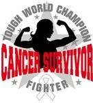 Lung Cancer Tough Survivor Shirts