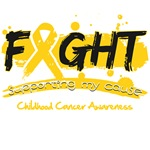Fight Childhood Cancer Cause Shirts