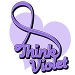 Hodgkin's Lymphoma Think Violet Shirts