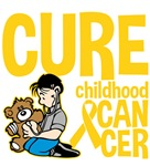 Cure Childhood Cancer Kids Shirts and Gifts