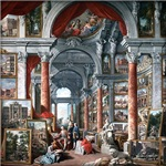 Giovanni Paolo Pannini - Gallery with Views of Mod