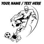 Custom Muscular Soccer Player