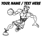 Custom Muscular Basketball Player