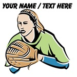Custom Softball Player