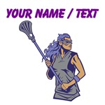 Custom Women's Lacrosse Player