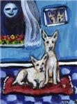 CANAAN DOG art