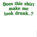 Does this shirt make me look drunk...?