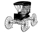 Old Fashioned Black Buggy
