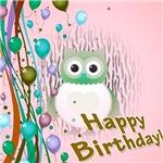 Birthday Owl