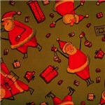 Happy Santa red