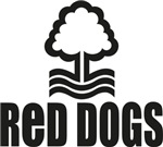 Red Dogs with logo