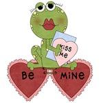 Frog Be Mine Valentine