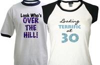 Adult Birthday T-shirts, Gifts, Mugs