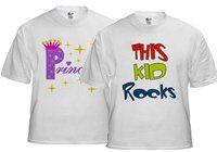 All Text Kids Tshirts