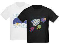 Sea Creatures T-shirts