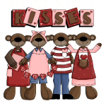 Valentine Kisses T-shirts and Gifts