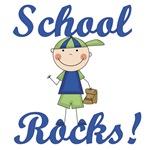 Boy School Rocks T-shirts and Gifts