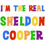 Bright Colors Real Sheldon Cooper