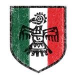 Vintage Aztec Mexico Crest