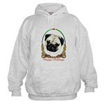 Pug Dog Breed Holiday Cold Weather Wear
