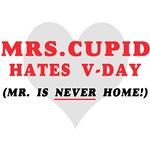 MRS. CUPID HATES V-DAY