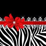 Zebra (Red)