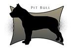 Pit Bull Silhouette